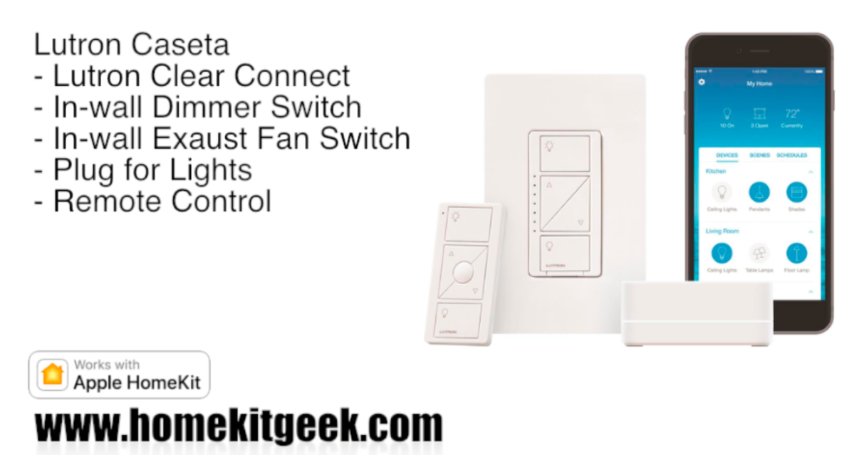 Lutron Caseta Let There Be Light Home Automation